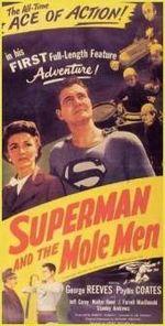 Affiche Superman et les Nains de l'enfer