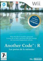 Jaquette Another Code : R - Les Portes de la mémoire