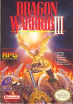 Jaquette Dragon Warrior III