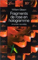 Couverture Fragments de rose en hologramme