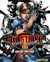 Jaquette Street Fighter III 3rd Strike : Online Edition