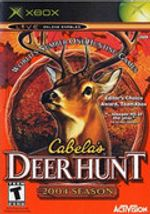 Jaquette Cabela's Deer Hunt : 2004 Season