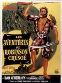 Affiche Les Aventures de Robinson Crusoé
