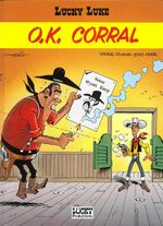 Couverture O.K. Corral - Lucky Luke, tome 66