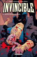 Couverture Super-Héros un jour... - Invincible, tome 4