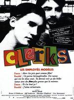 Affiche Clerks, les employés modèles