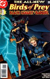 Couverture Birds of Prey : Black Canary / Batgirl