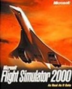 Jaquette Flight Simulator 2000