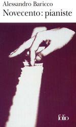 Couverture Novecento : Pianiste