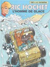 Couverture L'Homme de glace - Ric Hochet, tome 69