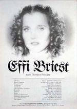 Affiche Effi Briest