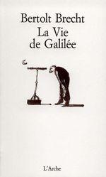 Couverture La Vie de Galilée