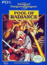 Jaquette Advanced Dungeons & Dragons : Pool of Radiance