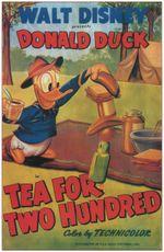 Affiche Donald et les fourmis