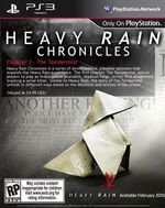 Jaquette Heavy Rain Chronicles : Épisode 1 - Le Taxidermiste