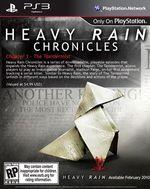 Jaquette Heavy Rain Chronicles : Épisode 1 - Le Taxidermiste
