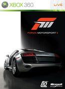 Jaquette Forza Motorsport 3