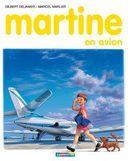 Couverture Martine en avion