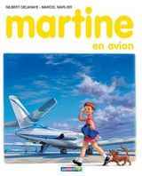 Couverture Martine en avion