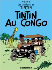 Couverture Tintin au Congo - Les Aventures de Tintin, tome 2