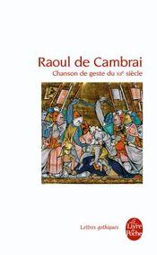 Couverture Raoul de Cambrai