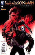 Couverture Freddy vs Jason vs Ash