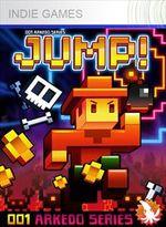Jaquette Arkedo Series: 01 JUMP!