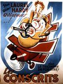 Affiche Laurel et Hardy conscrits