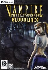 Jaquette Vampire : The Masquerade - Bloodlines