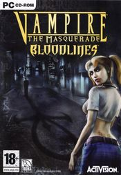Jaquette Vampire: The Masquerade - Bloodlines
