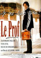 Affiche Le Prof