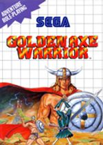 Jaquette Golden Axe Warrior