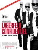 Affiche Lagerfeld Confidentiel