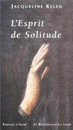 Couverture L'esprit de solitude