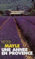 Couverture Une année en Provence