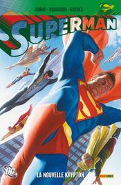 Couverture La Nouvelle Krypton - Superman, tome 1