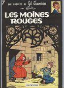Couverture Les Moines rouges - Gil Jourdan, tome 7