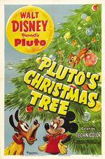 Affiche L'arbre de Noël de Pluto