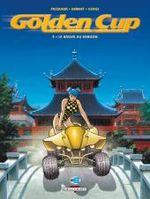 Couverture Le Baiser du dragon - Golden Cup, tome 5