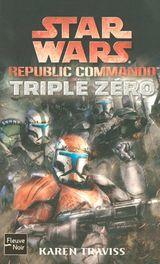 Couverture Triple Zéro - Star Wars : Republic Commando, tome 2
