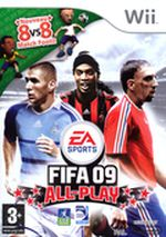 Jaquette FIFA 09 : All-Play
