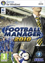 Jaquette Football Manager 2010