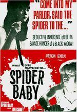 Affiche Spider Baby