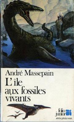 Couverture L'Île aux fossiles vivants