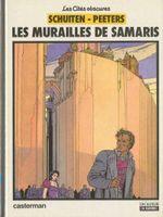 Couverture Les Murailles de Samaris - Les Cités obscures, tome 1