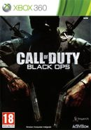 Jaquette Call of Duty : Black Ops