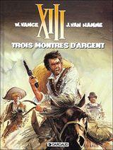 Couverture Trois Montres d'argent - XIII, tome 11