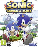 Jaquette Sonic Generations