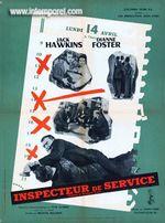 Affiche L'Inspecteur de service