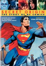 Affiche Secret Origin: The Story of DC Comics